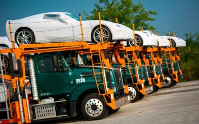 What are the different options available for shipping a car?