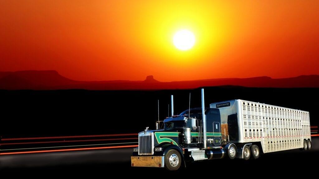 sunset-truck-american-rest-traffic
