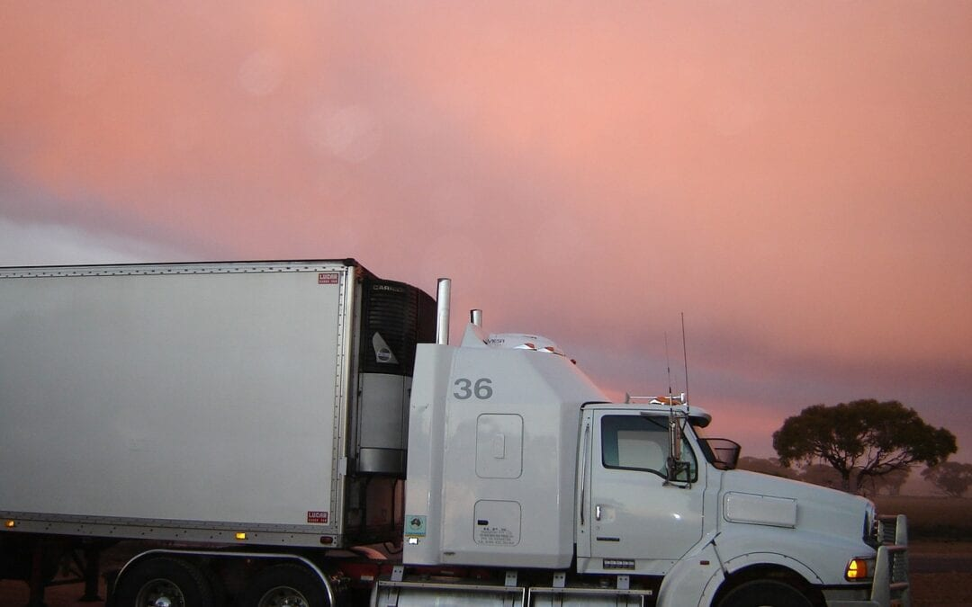 Truck under the clouds scaled