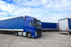 truck-vehicle-with-trailers-in-background