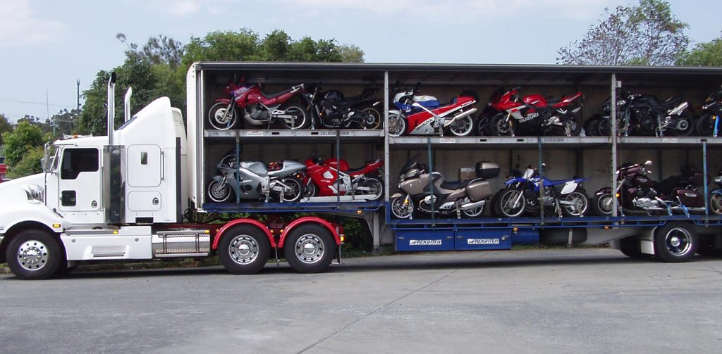 motorcycle transport service