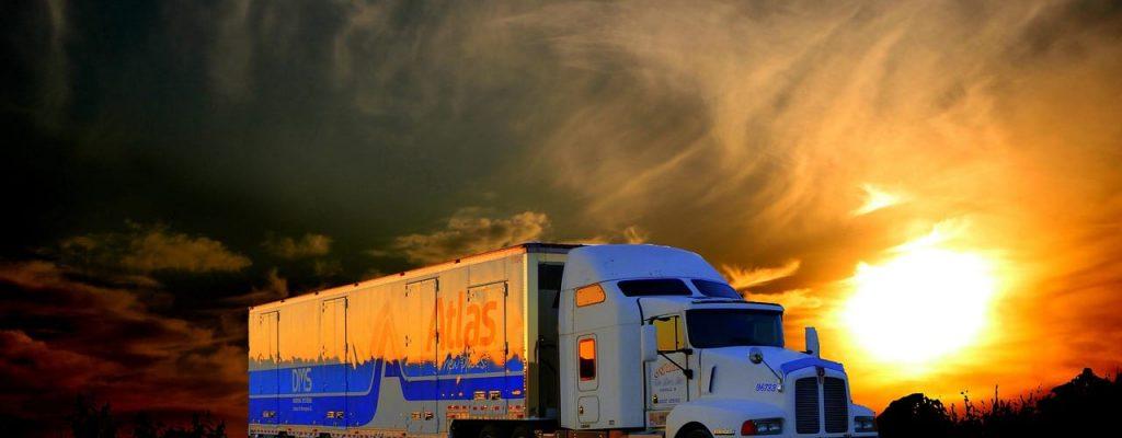 truck-transport-under-the-sunset